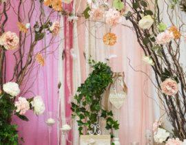 Romantic Wedding Welcome Table